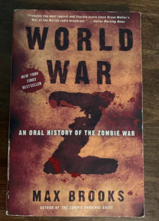 cover of a book with blood splatters and a large Z in the middle