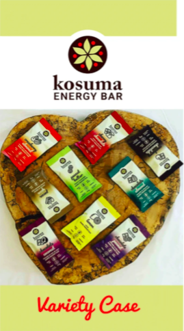 various flavours of energy bars in different coloured packaging