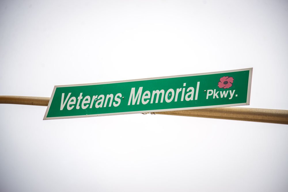 Veterans Memorial Parkway in Argyle Park