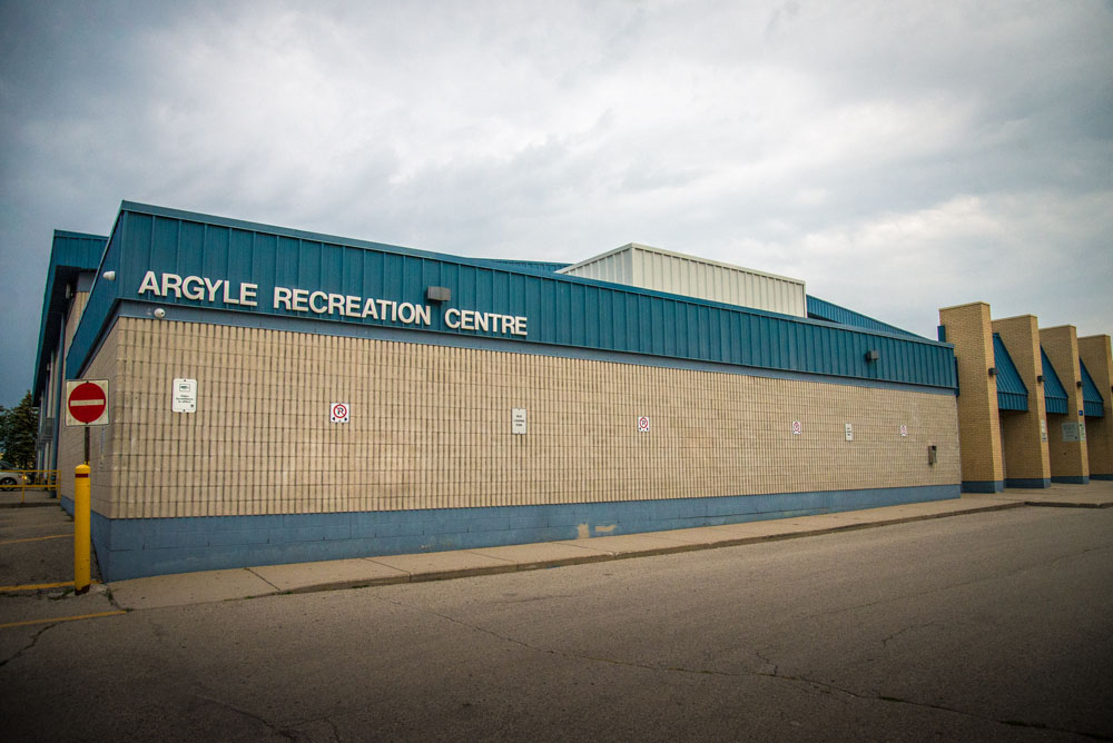 Argyle Park's recreation centre