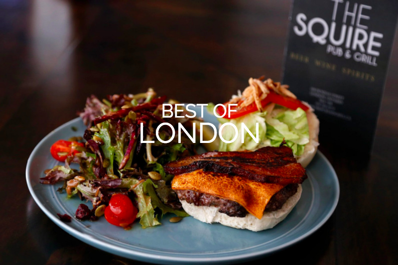The Best of London Burgers