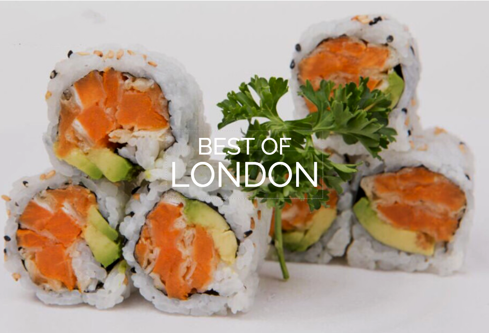 Best of London sushi