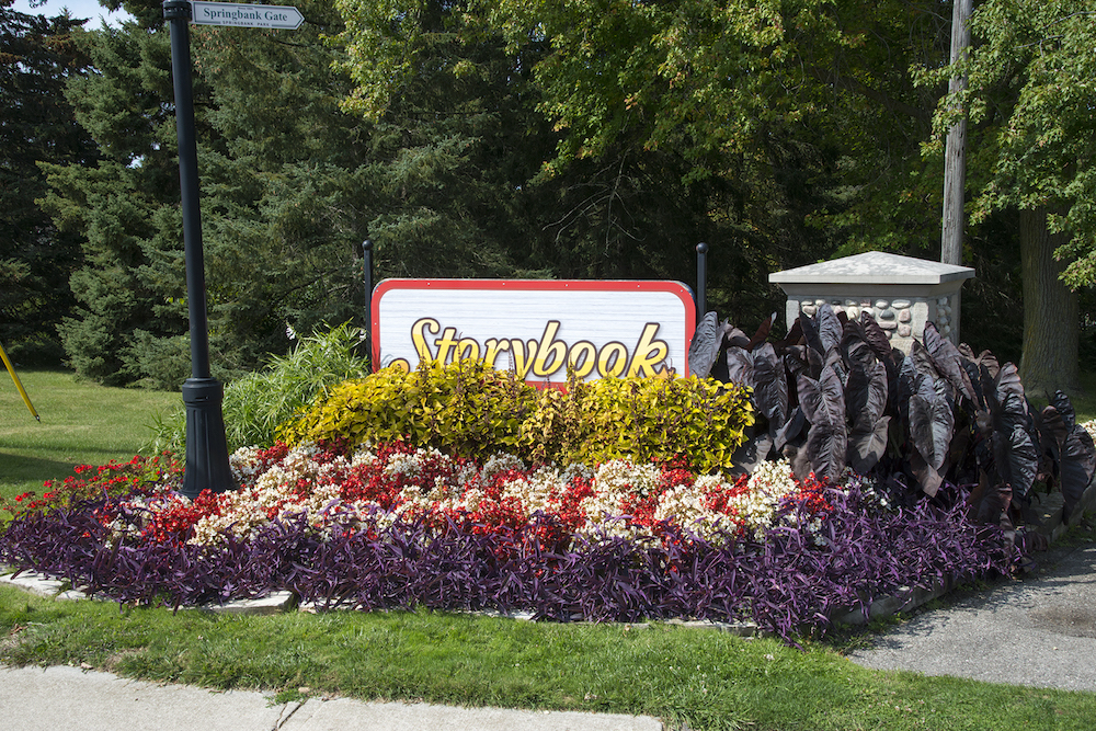 Storybook Gardens in Byron London, Ontario