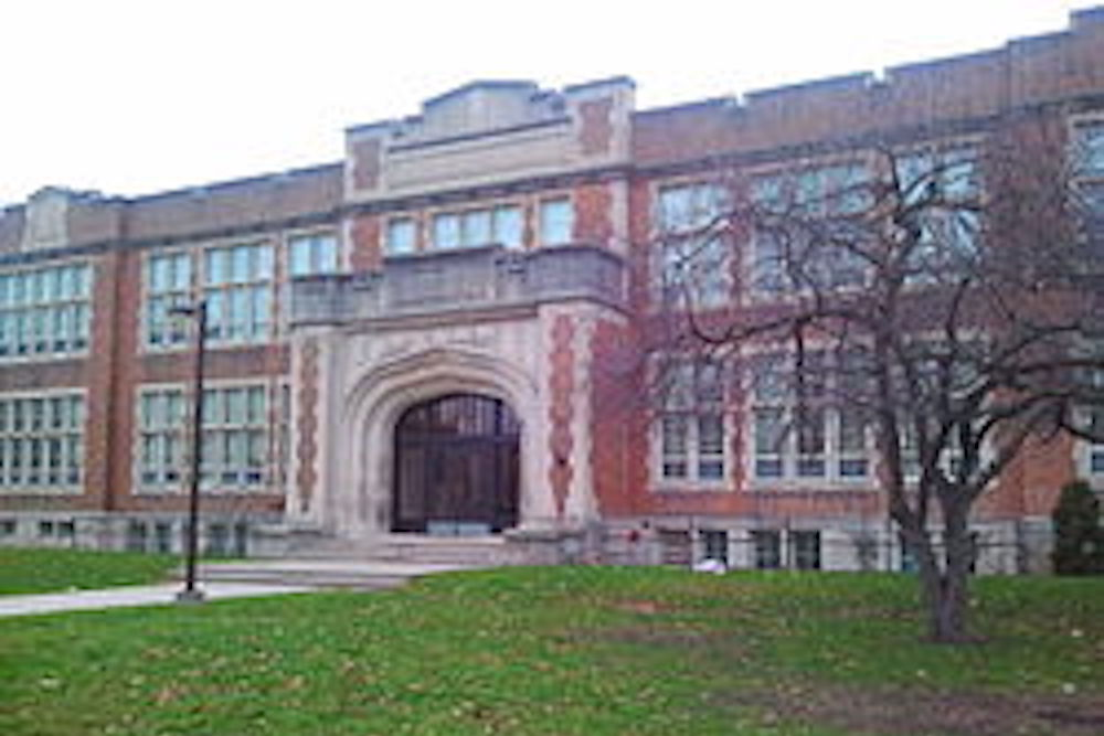 Central Secondary High School in London, Ontario