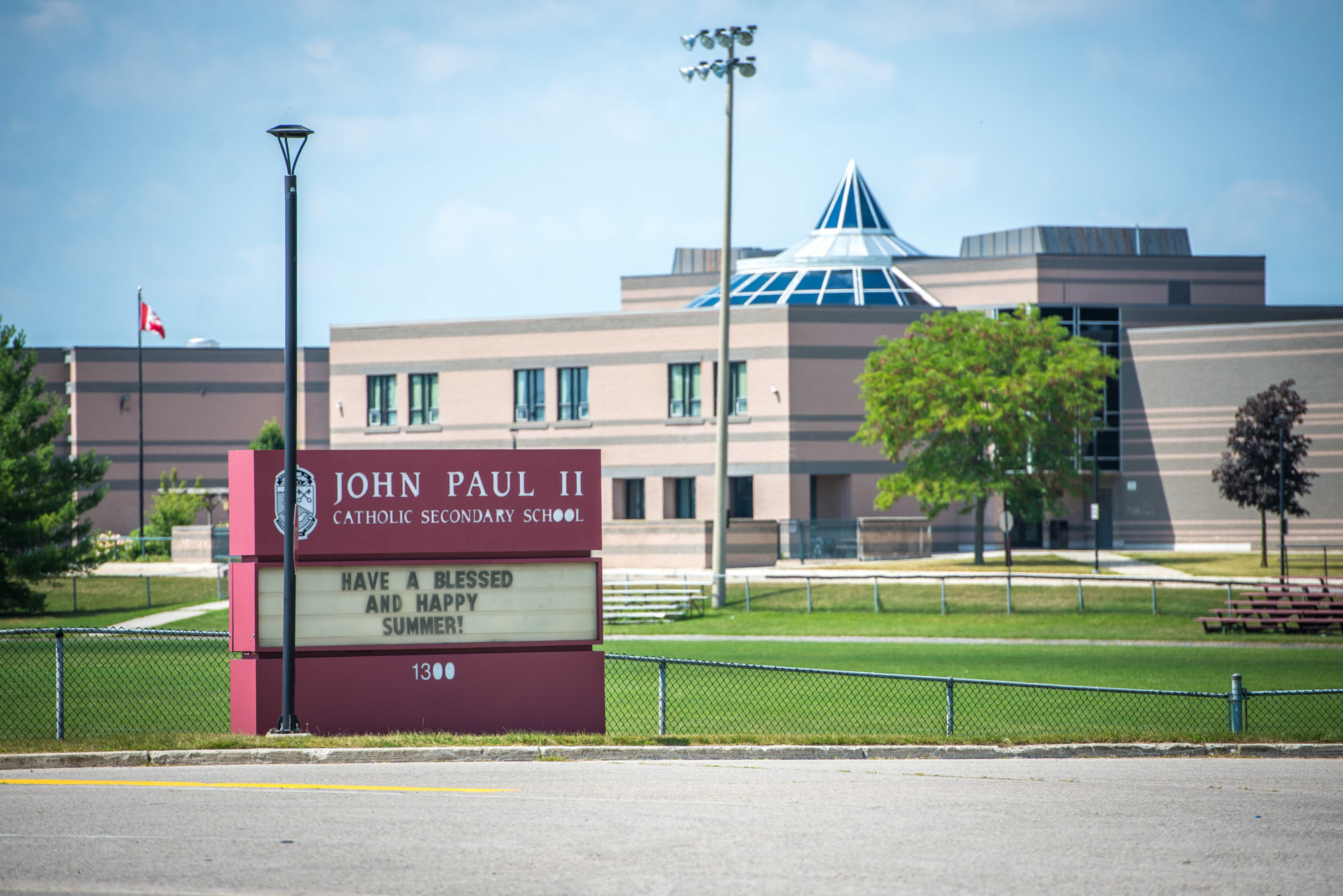 John Paul 2 Secondary School in London Ontario