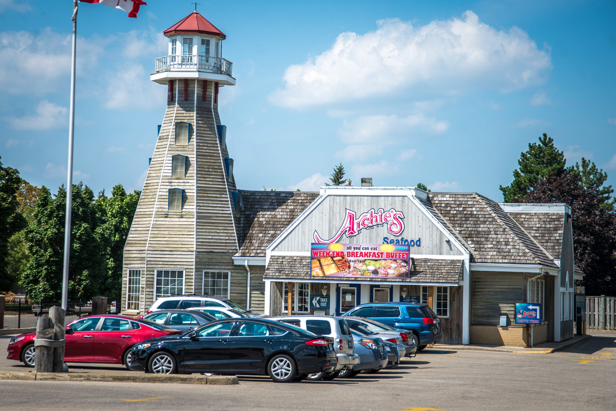 Archies Seafood restaurant in Huron Heights, London, Ontario