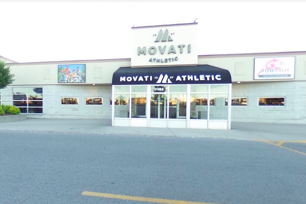 Movati Athletic Club in Andover Trails London, Ontario