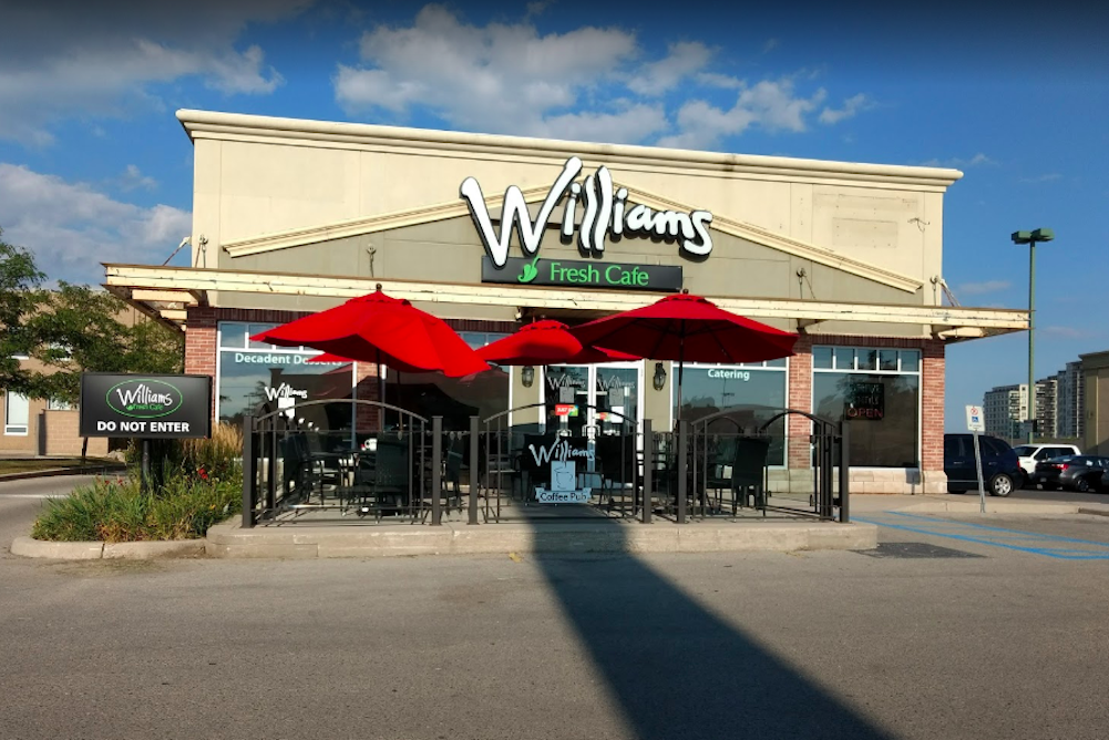 Wiliams Fresh Cafe in Andover Trails London, Ontario