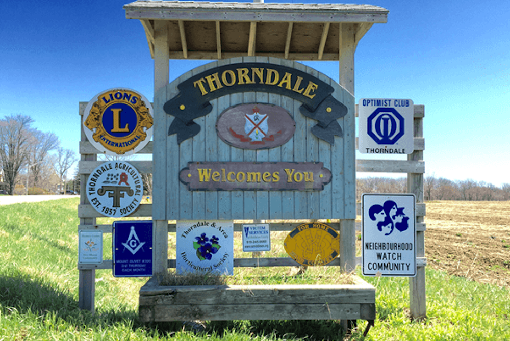 Welcome to Thorndale London, Ontario