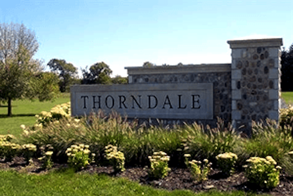 Thorndale Entrance