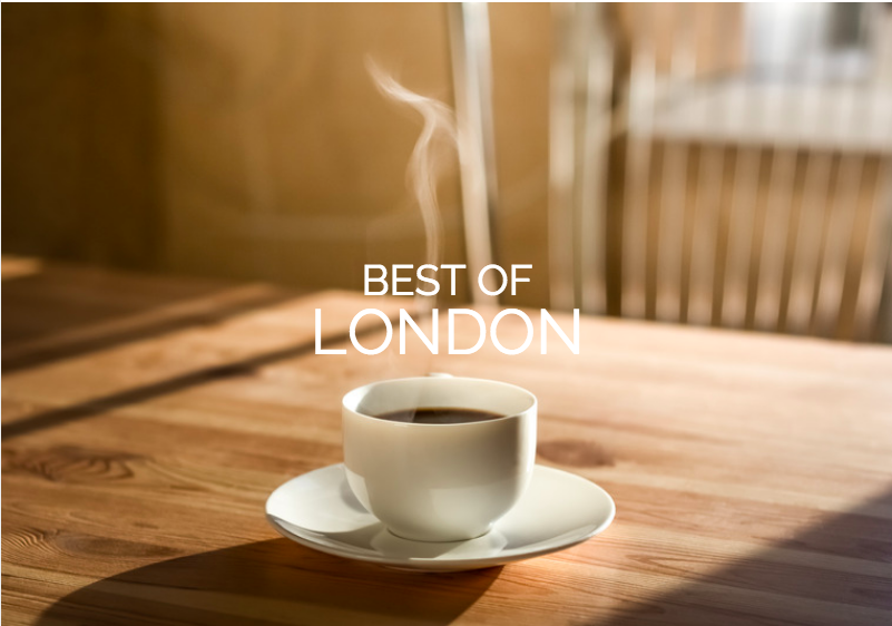 best of london coffee shops