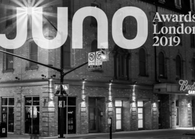The Juno Awards are Coming to London