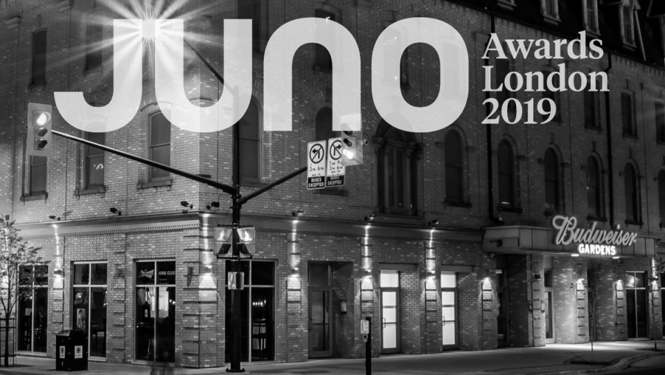 Juno Awards in London Ontario 2019