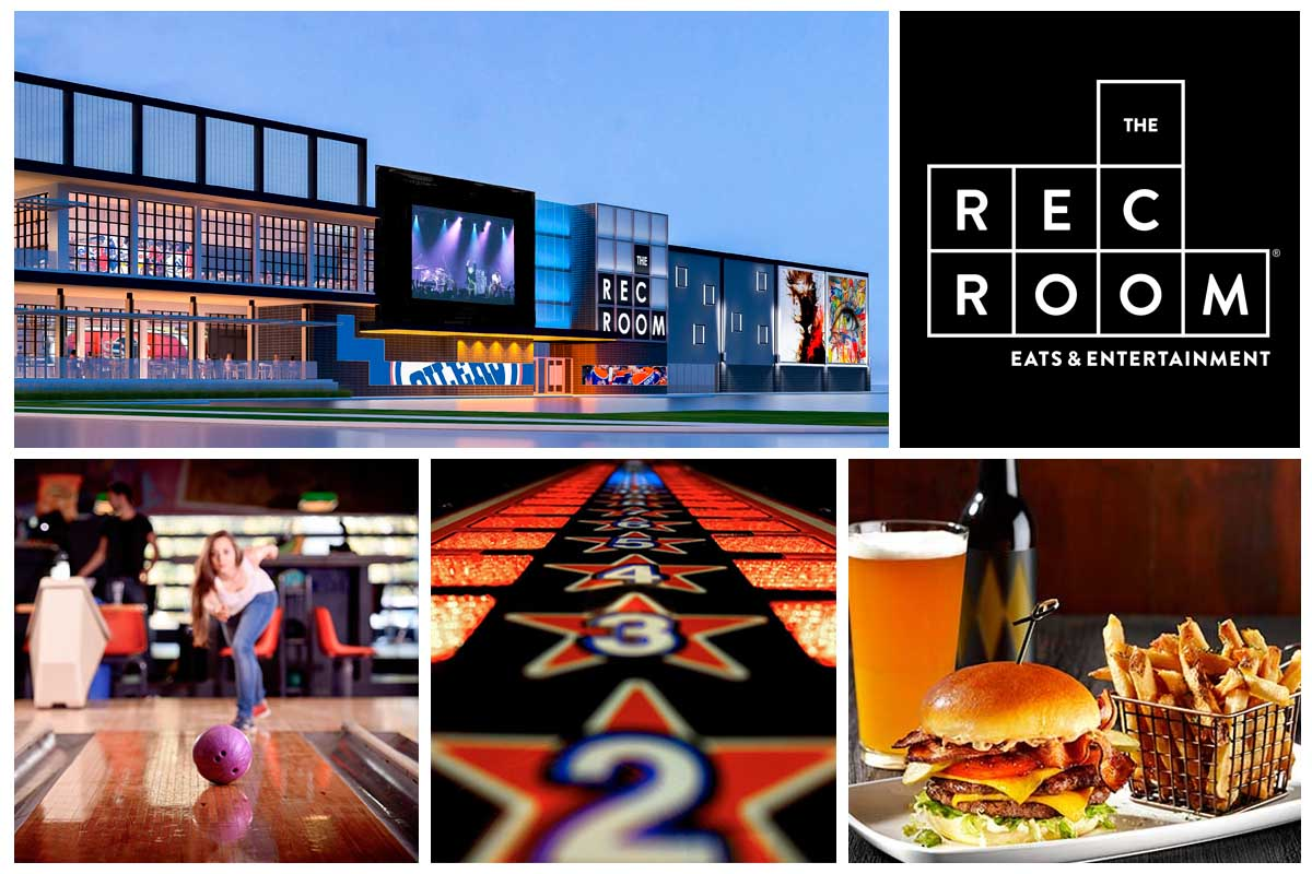 The Rec Room London Collage