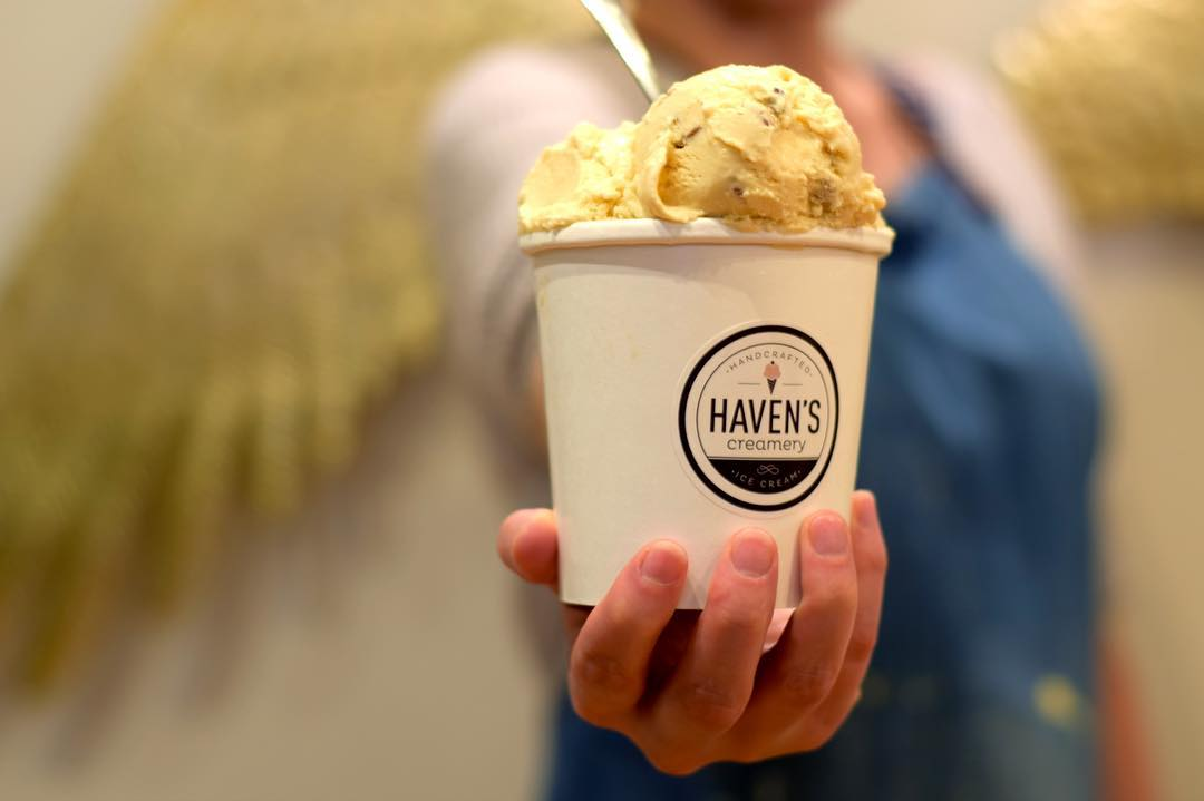 Pint of Ice Cream from Haven's Creamery
