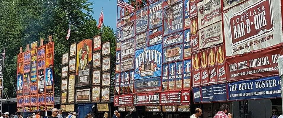 Rib Fest in London Ontario at Victoria Park