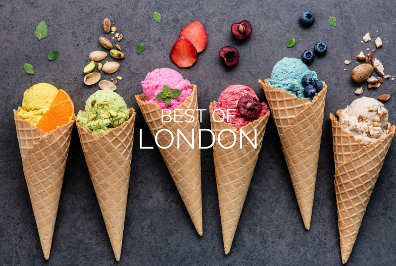 Best ice cream parlors in London