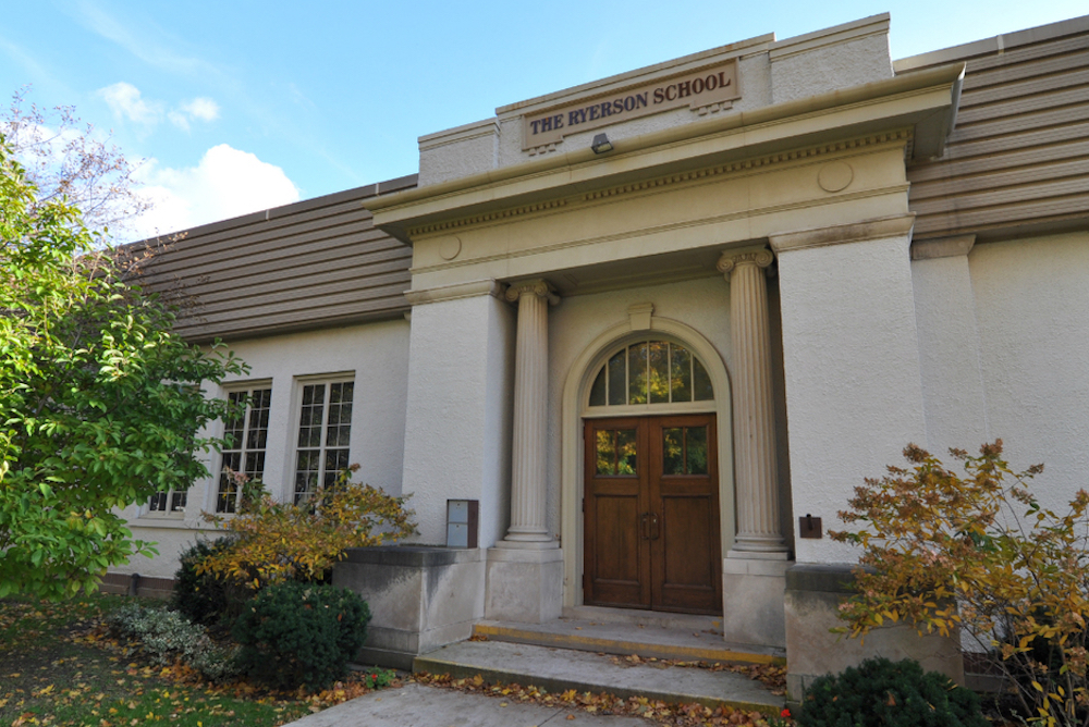 Ryerson Public School In Old North Neighbourhood, London Ontario
