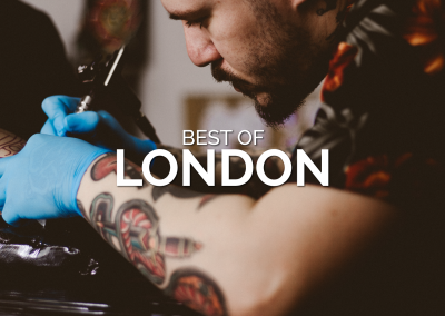 The Best Tattoo Parlors in London