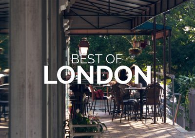 The Best Patios in London