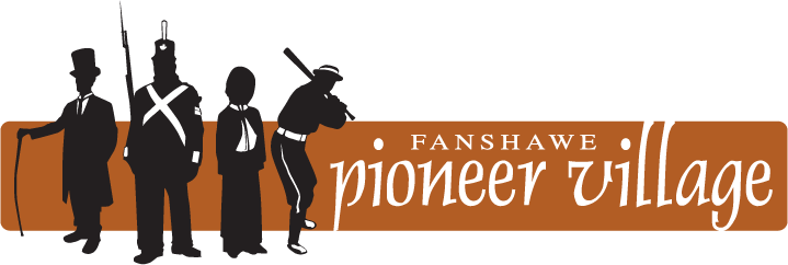 company logo featuring people and burnt orange accent