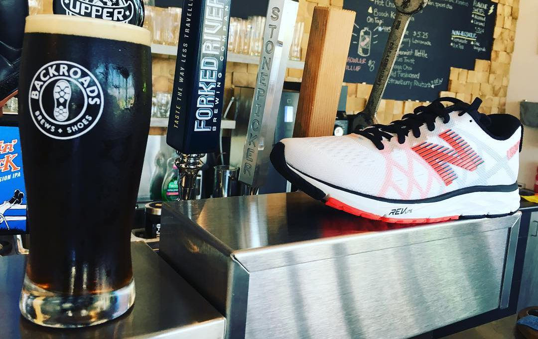 Best Running Stores - BackRoads Brews and Shoes