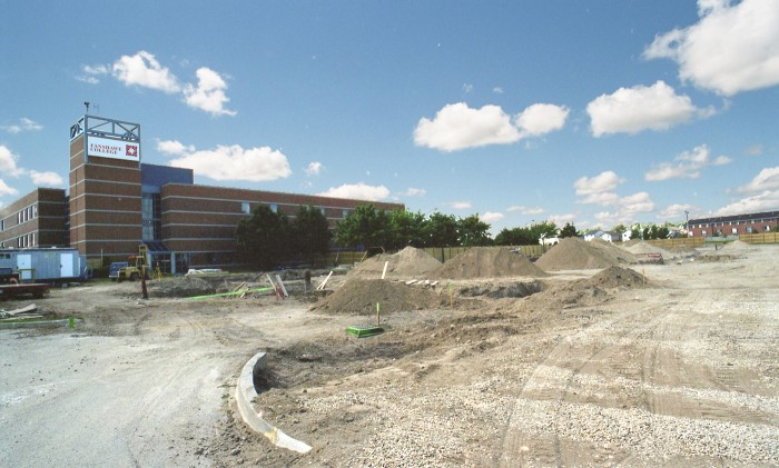 Fanshawe College - Construction of the M Building 2005