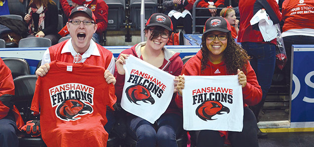 Fanshawe College - Athletics - Cheering fans