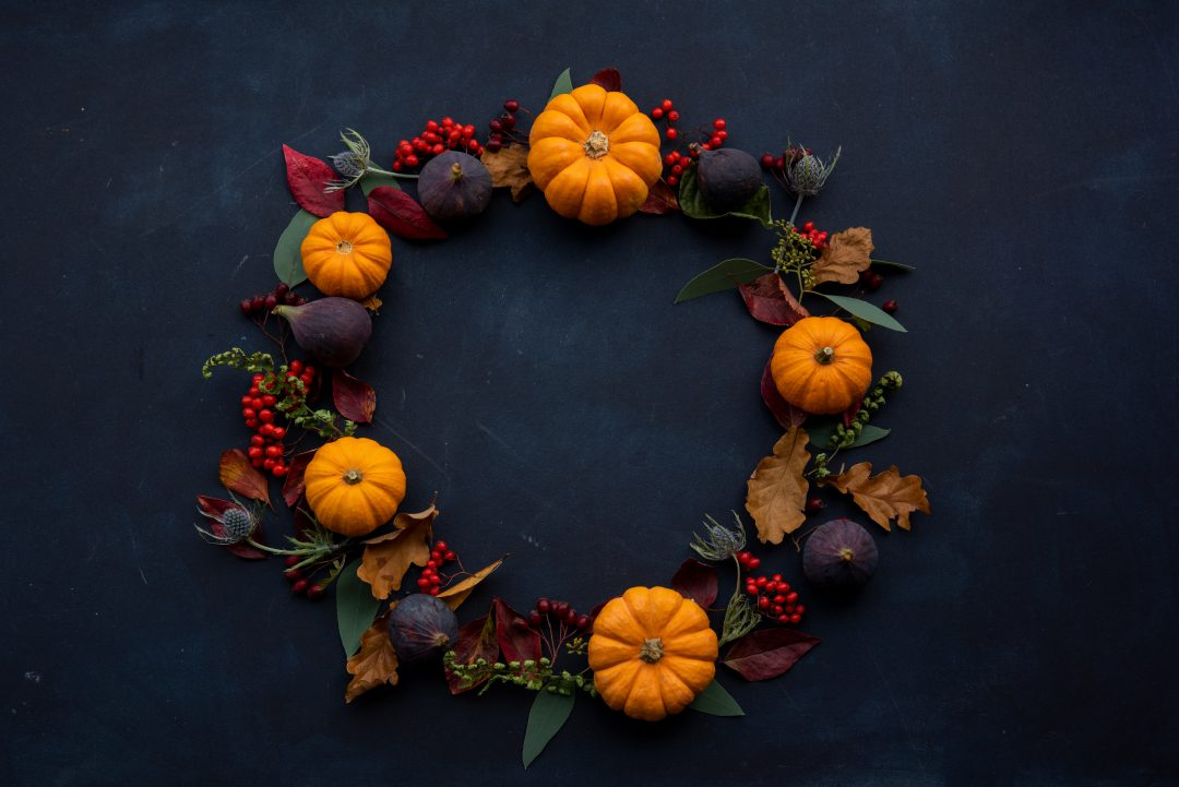 Fall decorating tips - hang a wreath