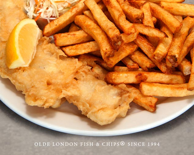 Best Fish and Chips in London - Olde London