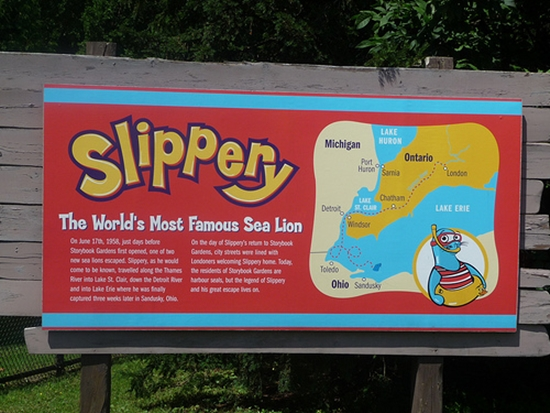 Springbank Park - Slippery the Sea Lion