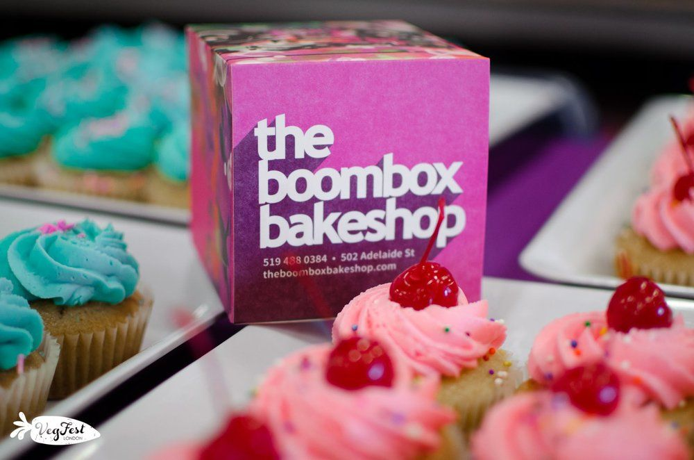 VegFest London Sponsor - Boombox Bakeshop
