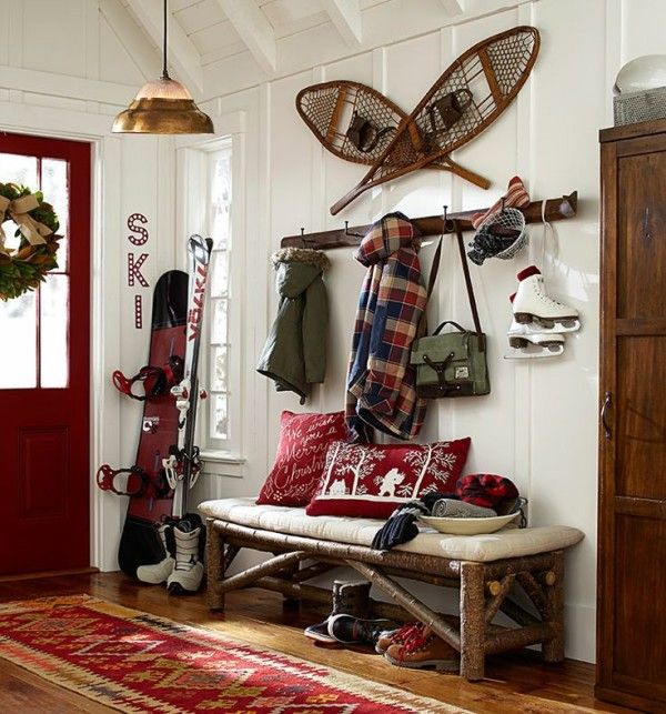 Winter Decorating Tips: Vintage Winter Sports Gear