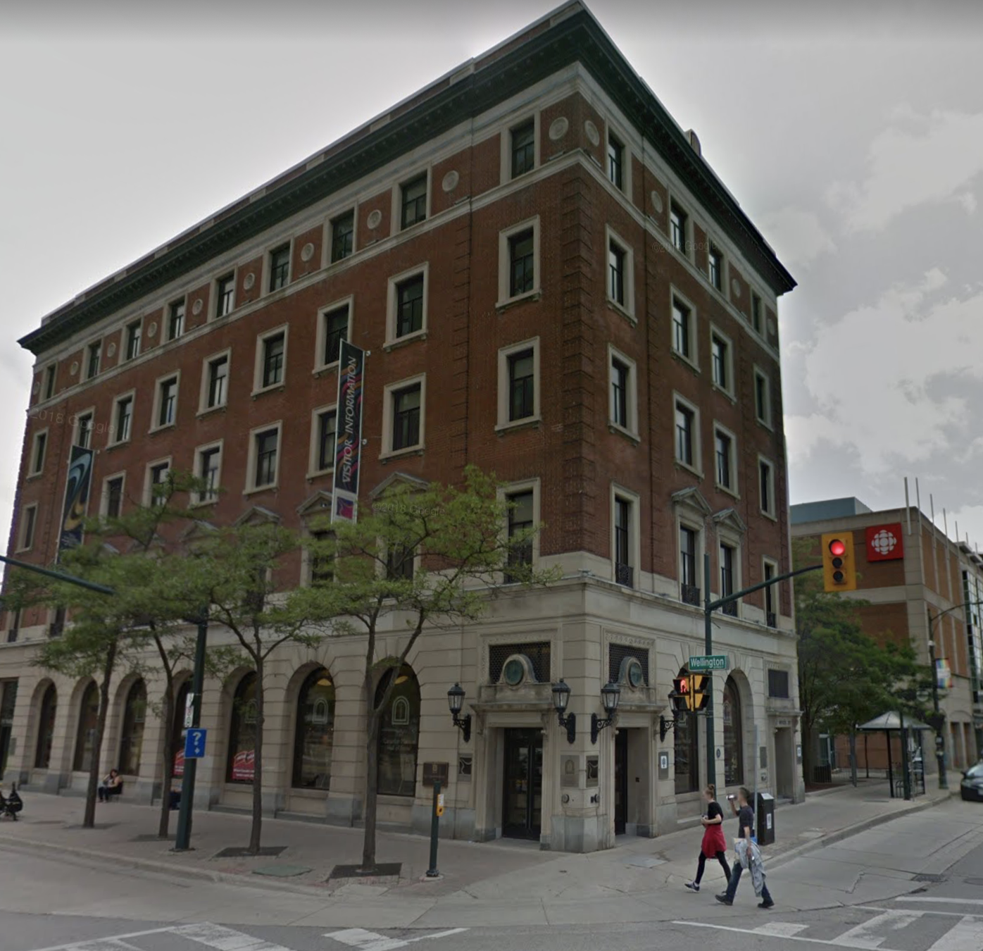 google street view Canadian medical hall of fame