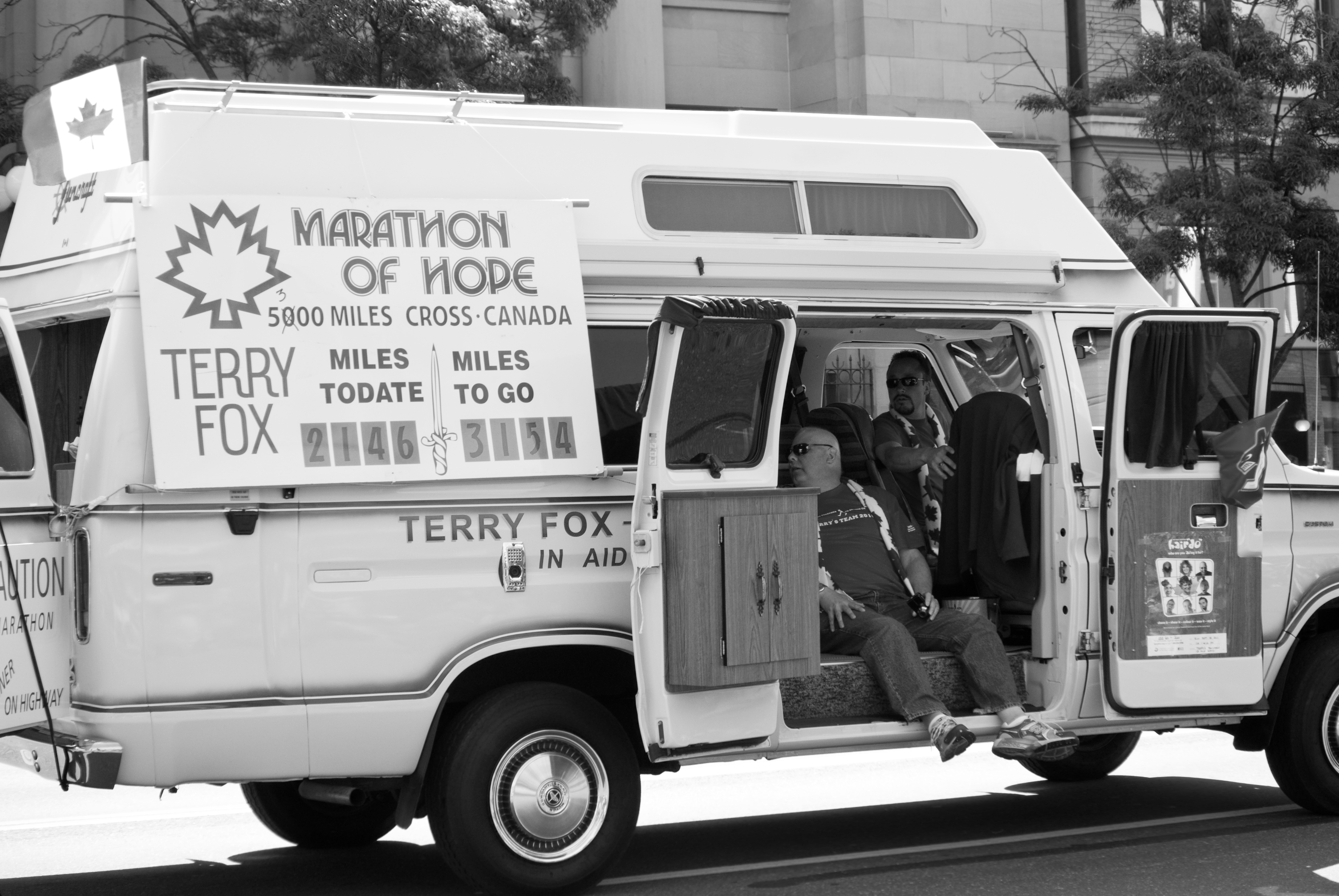 marathon of hope truck