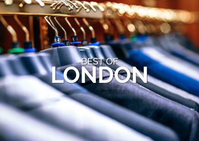 The Best Menswear in London